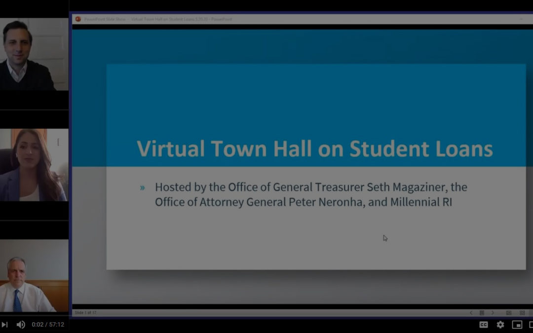 RI Student Loan Virtual Town Hall